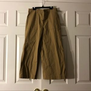 Forever21 women's brown wide pants